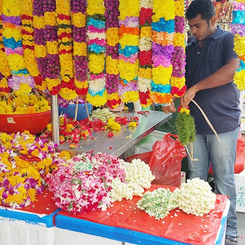 Little India Explorers Tour_Flower Garland