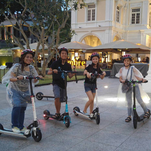 Night E-scooter City Tour_Clarke Quay