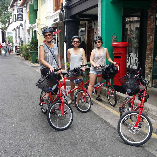 SINGAPORE BIKE EXPLORERS TOUR_HAJI LANE