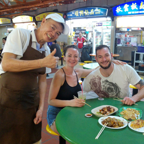 CHIANTOWN FOOD ADVENTURE_MAXWELL HAWKER CENTRE