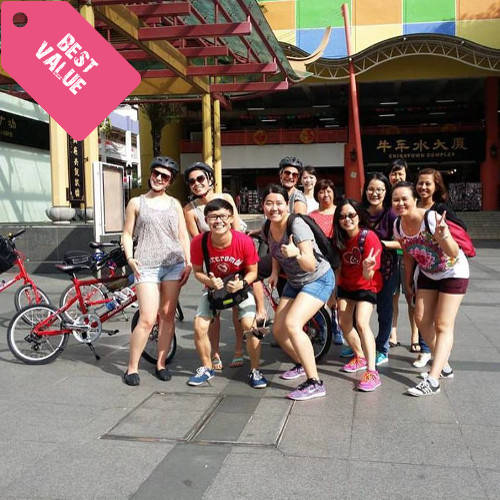 Singapore Bike Tour + Singapore Food Tour